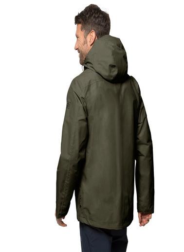 Jack Wolfskin Gotland 3İn1 Erkek Ceket - 1110721-5100 Yeşil